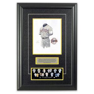 0fc193ebf4a Original Art of the MLB 1989 San Diego Padres Uniform - Traditional ...