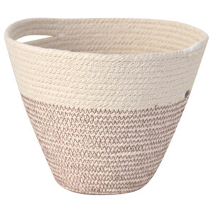Mediterranean Cotton Rope Hanging Pot, Small