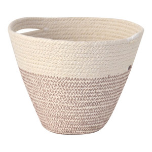 Mediterranean Cotton Rope Hanging Pot, Large