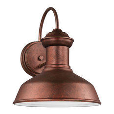 50 most popular traditional copper outdoor wall lights and sconces sea gull lighting small led outdoor wall lantern weathered copper outdoor wall lights aloadofball Image collections