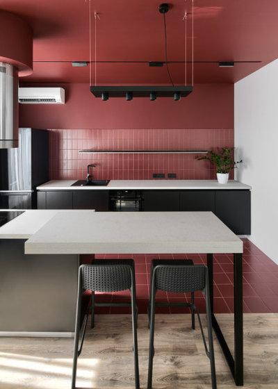 Современный Кухня by Lauri Brothers