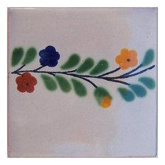 4.2x4.2 9 pcs Bouquet Bower Talavera Mexican Tile