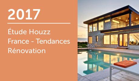 Étude Houzz France : Tendances Rénovation 2017