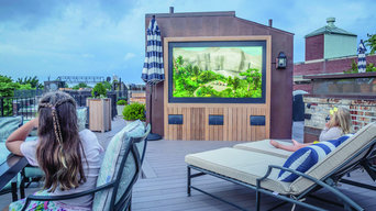 Outdoor Home Theater in Atlanta