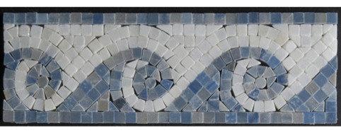 Wave Border Mosaic - Tile