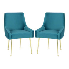 Novogratz Huxley Dining Chairs Blue Set Of 2