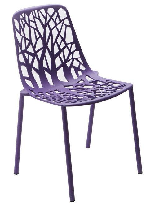 Forest Stol Stapelbar, Lila - Udendørs spisebordsstole