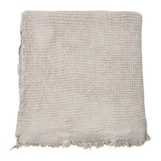 Fil Blanc - Boheme Bath Towel, Grey - Bath Towels