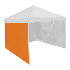 Plain Orange Tent Side Panel