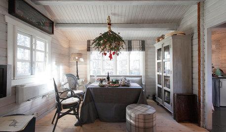 Houzz Дания: Рождественский декор в домике у залива