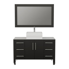 "48"" Bathroom Vanity, PC Faucet"