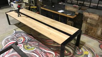 Création table familiale 4m en chêne massif