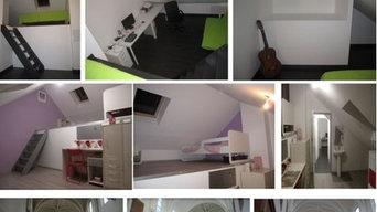 Rénovation maison et aménagement de comble