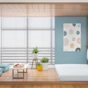 Zen Home Office   Prestige White Meadows   Contemporary Design   Artis Interiorz