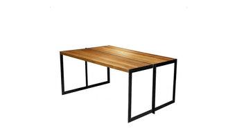 Table Noyer Acier