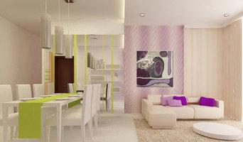 Cuadro Abstracto Violeta