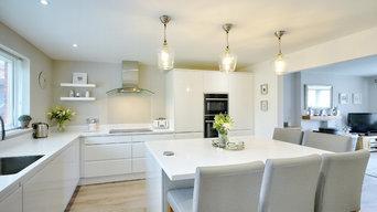J form handless Kitchen Banbridge
