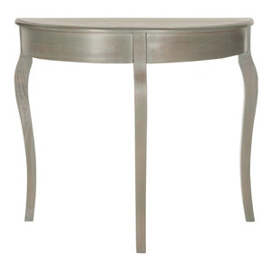 a1d2092d7ac2 Large Half Moon Round Hall Table with Drawer - Console Tables - by ...