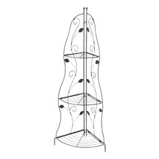 Hipp Hardware Plus 3 Shelf Corner Plant Stand, PS1119