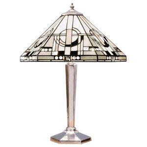 Metropolitan 60 W Table Light, Medium, Polished Aluminium