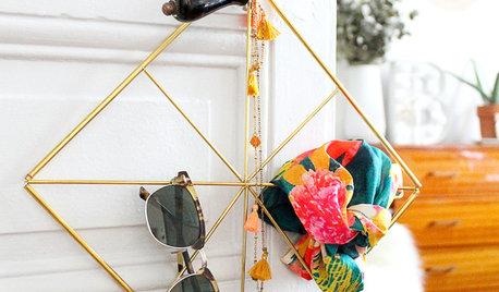 DIY : Un porte-accessoires en laiton tendance et multifonction
