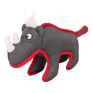 Animal Dura-Chew Chew Tugging Dog Toy, Gray