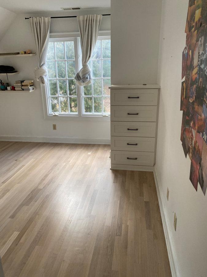 Bona Nordic White - Bedroom Install and Finish
