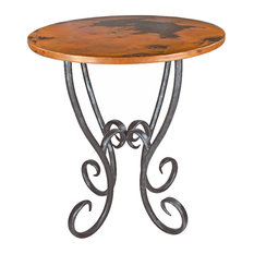 """Milan 36"""" Counter Table With 34"""" Round Top"""