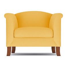 Albright Chair, Marigold Velvet