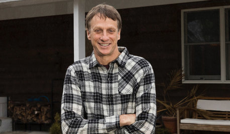 My Houzz: Pro Skater Tony Hawk Creates a Modern Home for a Friend