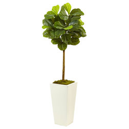 Contemporary Artificial Plants And Trees by Nearly Natural, Inc.