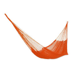 "Cotton Rope Hammock, ""Mango Paradise"", Single"