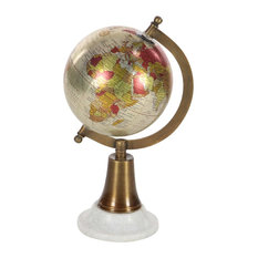 Eclectic Marble and Plastic Globe