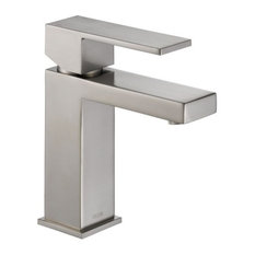 Delta Faucet   Delta Modern Faucet With Single Lever Handle, Brilliance  Stainless   Bathroom