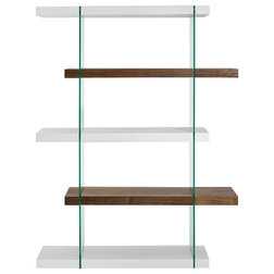 Contemporary Bookcases by Quality Furniture Discounts