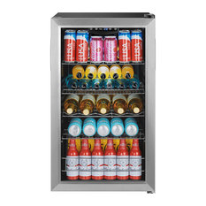 """EdgeStar BWC121 19""""W 105 Can Capacity Extreme Cool Beverage - Stainless Steel"""