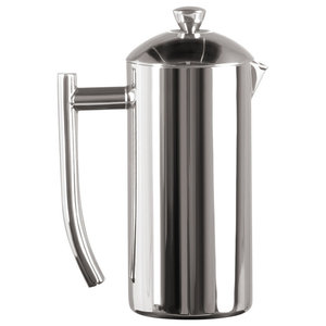 Frieling Polished 18/10 Stainless Steel French Press Coffee Maker, 17-Ounce