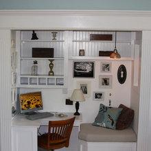 Closet Office Ideas