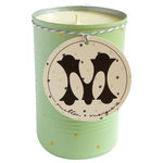 Milton and Margie's Soy Wax Candles - Soy Candle in Reused Can, Mint, Tall Grass - All of Milton and Margie's Soy Wax Candles are hand-poured in small batches. They are made from 100% pure soy wax, cotton wicks, and a blend of fine, soy-based oils.