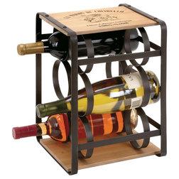Industrial Wine Racks by Brimfield & May