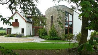 Sandstone House - External & Internal stonework
