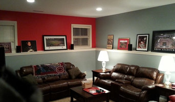 Ohio State room Before and After