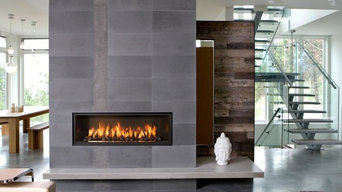 Town & Country WS54 Series 54'' x 29'' Clean Face DV Gas Fireplace