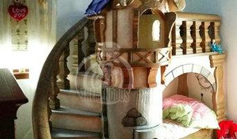 Princess Bed for Children's Bedroom