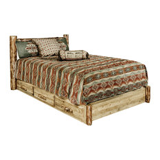 Glacier Country Collection Platform Bed With Storage, Queen
