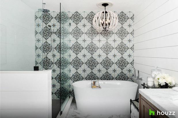 Transitional Bathroom by Motivo Home