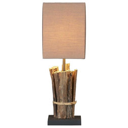 Perfect Beach Style Table Lamps by Natural design house