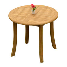 """36"""" Round Dining Outdoor Teak Table"""