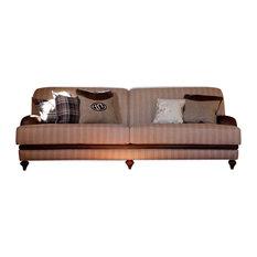 Tecninova - Fabric and Leather Upholstered Sofa - Sofas