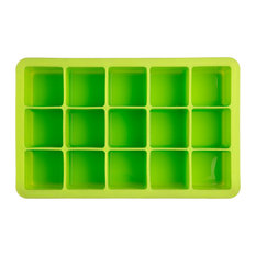 Epicurean Barware Classic Cube Ice Tray, Lime Green